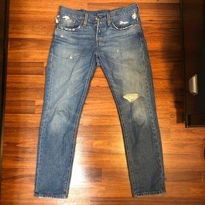 Levi's 501 Taper Women's Jeans